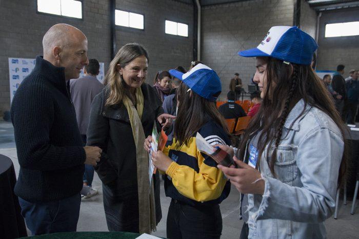 Derqui: se realizó por primera vez la Expo Educativa con ofertas universitarias y de educación terciaria para los jóvenes de la localidad
