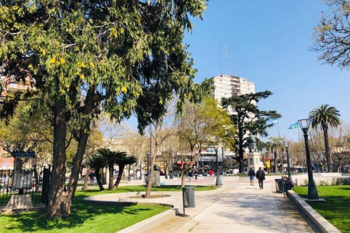Reabren la plaza principal de San Miguel