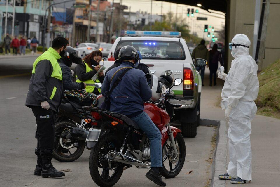 Realizan nuevos controles de tránsito en los principales accesos de San Fernando