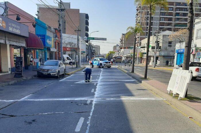 Impulsan la renovación y mantenimiento vial en Tigre Centro