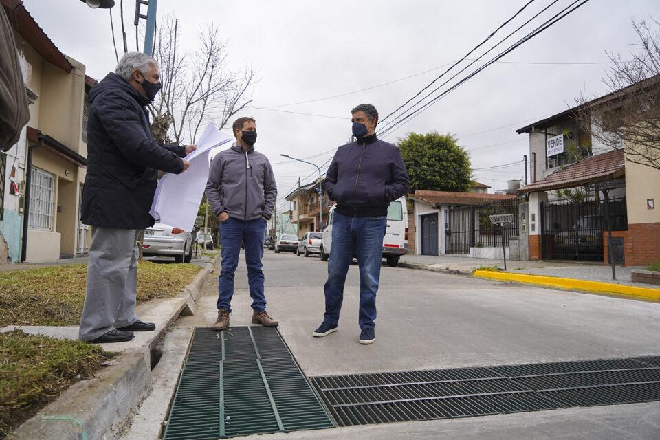 Impulsan nuevas obras hidráulicas en Vicente López
