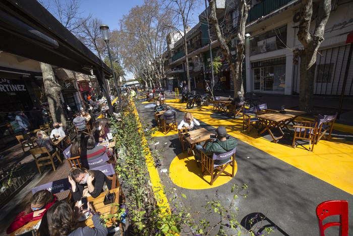 Este fin de semana, se suman nuevas áreas peatonales transitorias en la Ciudad
