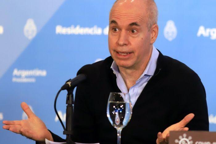 """Horacio Rodríguez Larreta le contestó al Presidente: """"En la Ciudad hay restricciones, no se ha vuelto a la vida normal"""""""