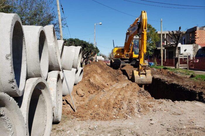 Avanza la Obra Hidráulica de la Cuenca Mariló en San Miguel