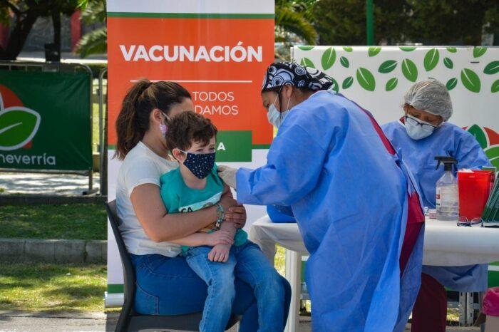 Amplian en la Provincia los planes de vacunas que no fueron aplicadas por la pandemia durante el año