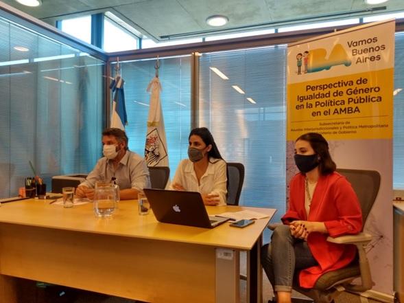Vicente López participó del Segundo Encuentro de Políticas de Igualdad de Género en el AMBA