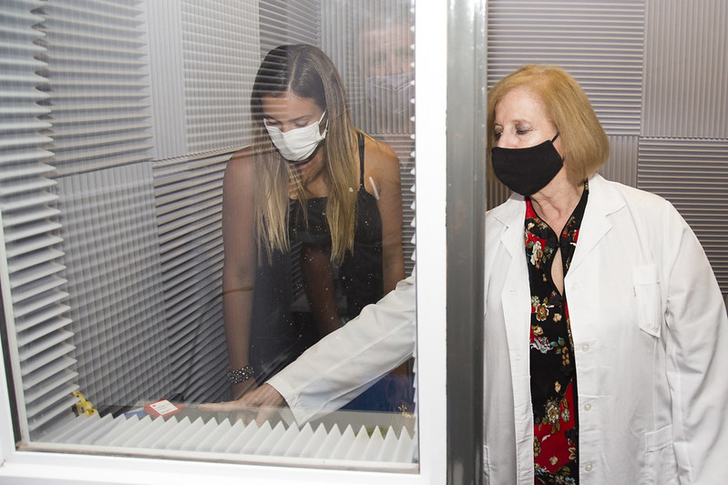 Inauguraron la sala de fonoaudiología en el Hospital Materno Infantil de San Isidro