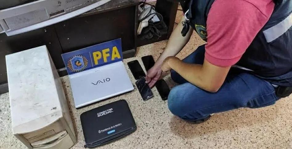 Detuvieron a un hombre que distribuía pornografía infantil en Tigre