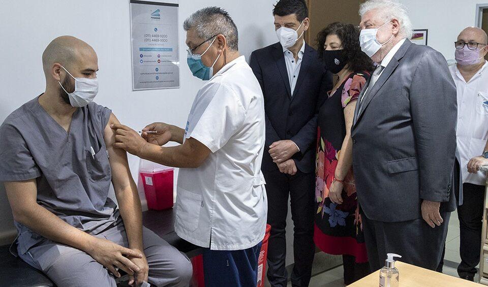 Arrancó la segunda etapa de la vacunación en Argentina