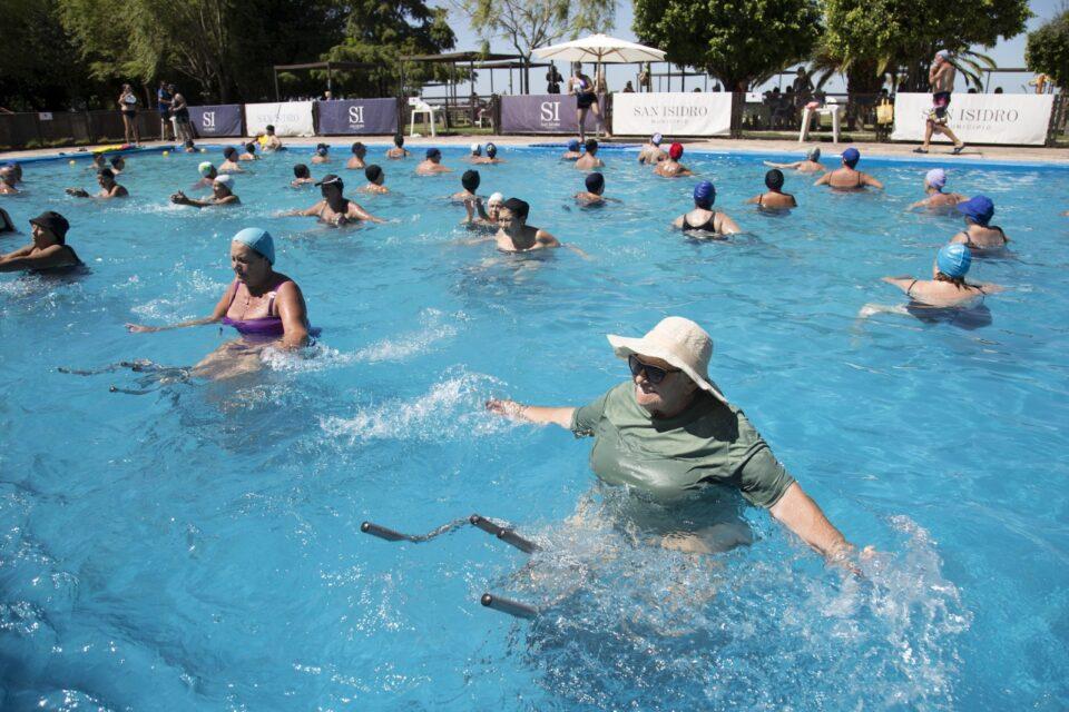 Spinning Acuático, la actividad que revoluciona Puerto Libre en San Isidro