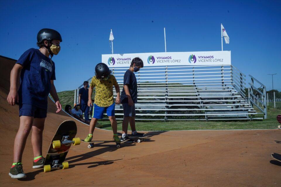 Comienzan en Vicente López nuevas escuelas deportivas y recreativas