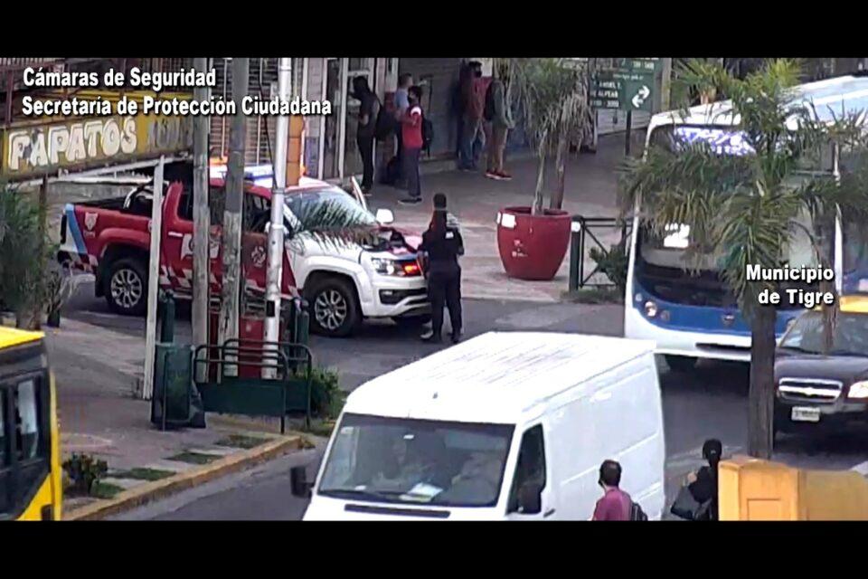 Don Torcuato: robó arriba de un colectivo y fue detenido