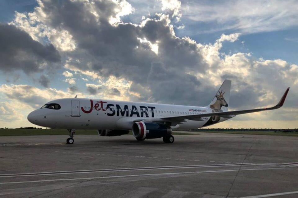 JetSMART finalizará en marzo todos los controles técnicos de sus aviones en Argentina