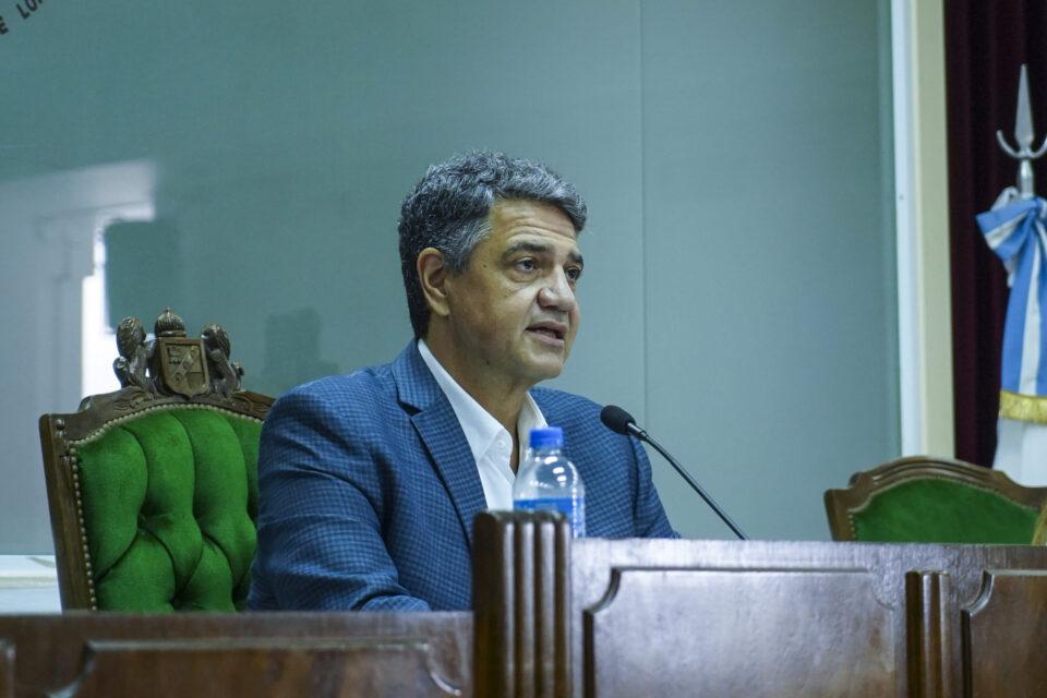 """Jorge Macri inició el año de sesiones legislativas: """"quienes gobernamos tenemos que ser responsables y llevar tranquilidad a los argentinos"""""""
