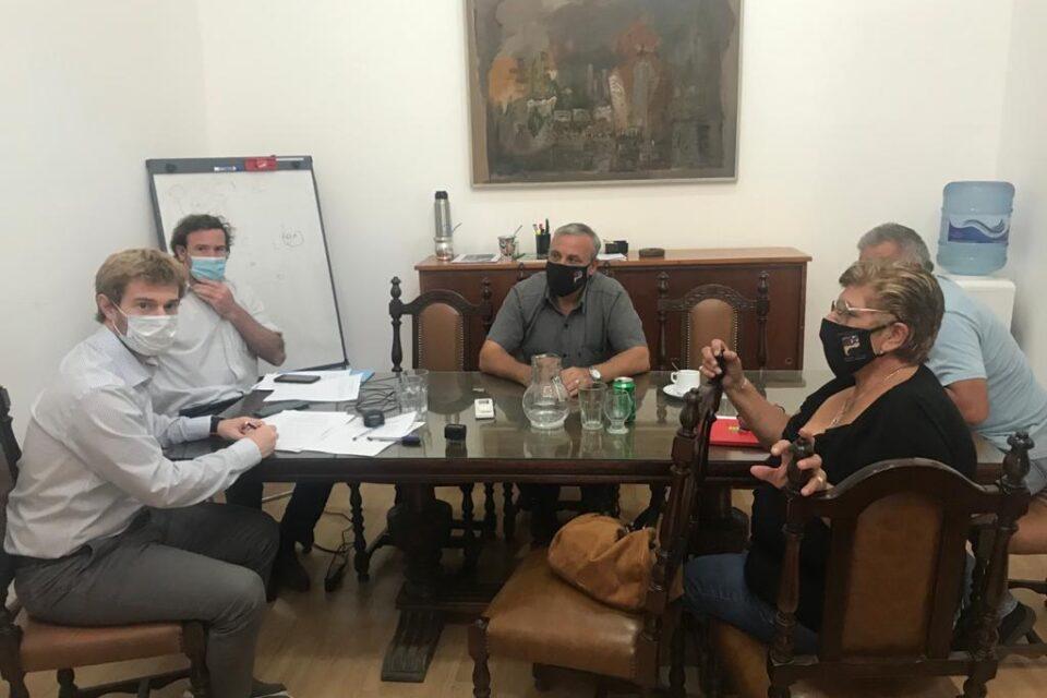 Nueva mesa técnica con personal de Salud de San Miguel: analizaron la situación de los enfermeros