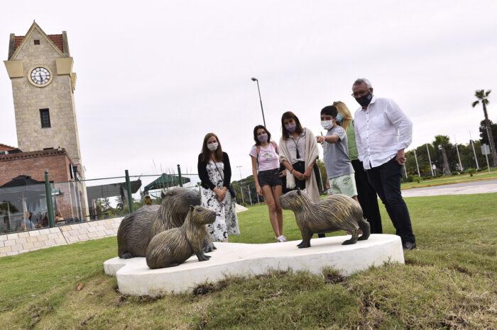 """El Municipio de Tigre presentó la obra artística """"Armonía"""" en homenaje a su fauna en el Día Mundial de la Tierra"""