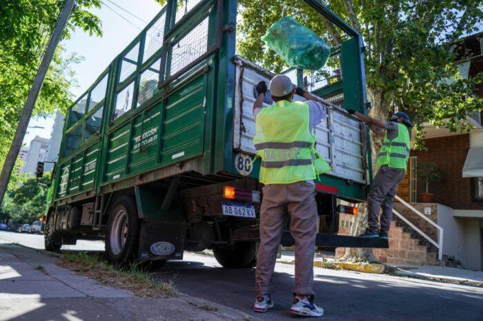 Vicente López realiza acciones para fomentar las buenas prácticas ambientales en barrios