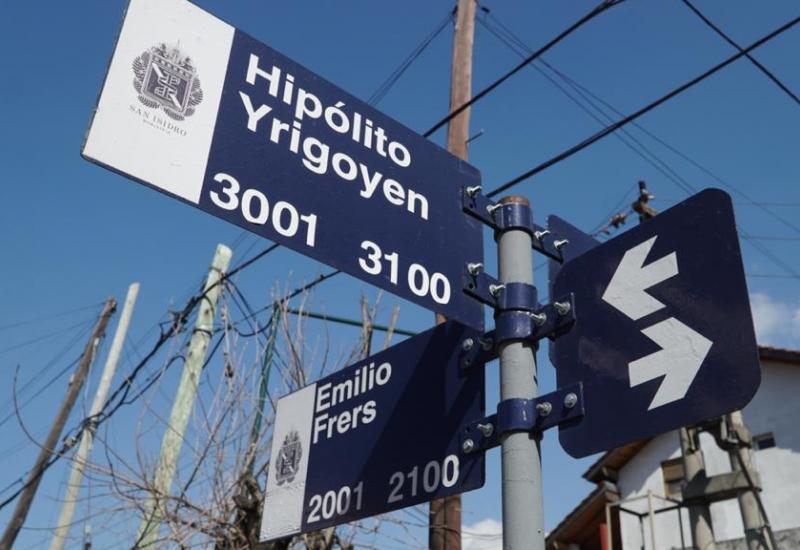 Cambian de sentido dos calles para agilizar el tránsito en Martínez