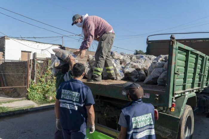 """Programa sustentable """"Buena Madera"""" en San Isidro"""