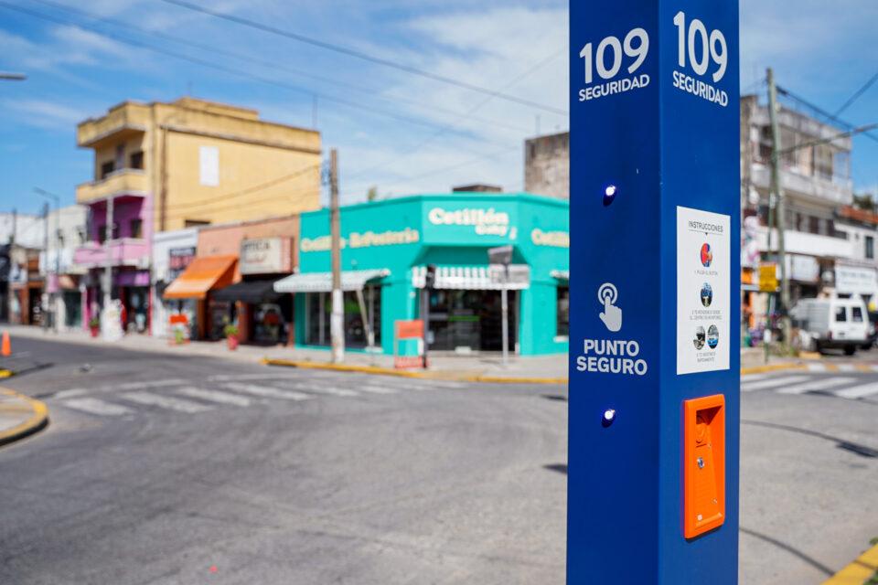 En Vicente López hay 67 Puntos Seguros para emergencias