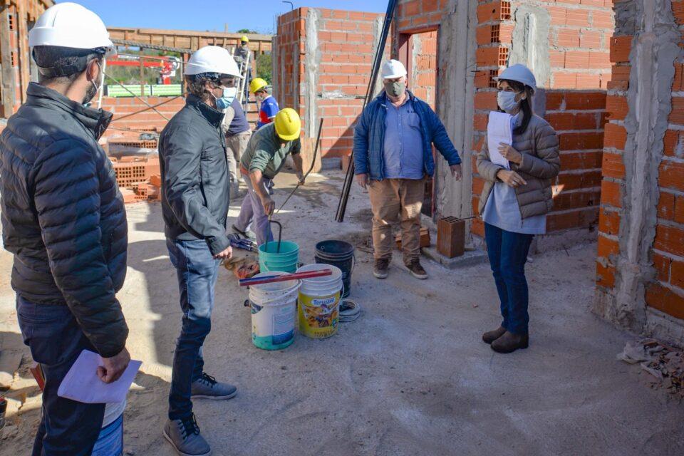 Andreotti supervisó las obras del nuevo Centro de Servicios y Espacios Públicos en Virreyes