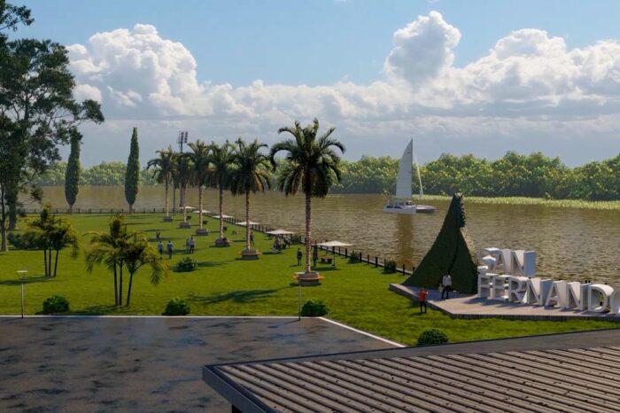 Avanzan las obras para amplia el Parque Náutico de San Fernando