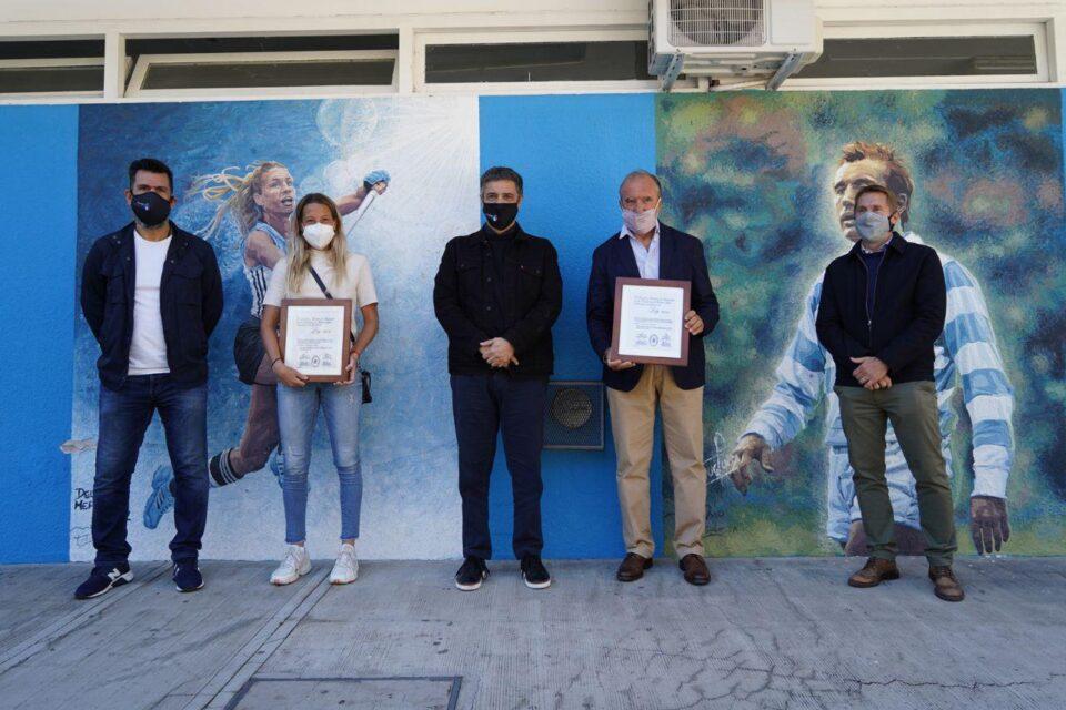 Reconocieron a Delfina Merino y Hugo Porta como deportistas destacados de la Provincia de Buenos Aires