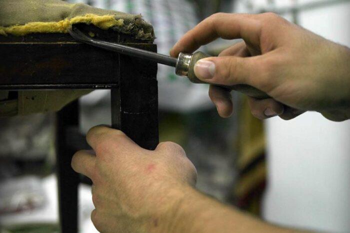 Comenzó la preinscripción para el taller de Restauración de Muebles y Tapicería