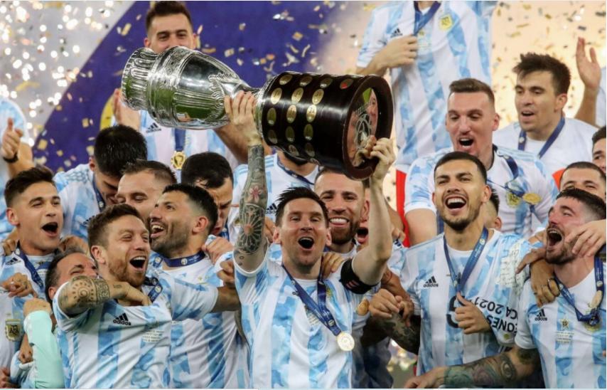 Histórico: Argentina campeón de la Copa América