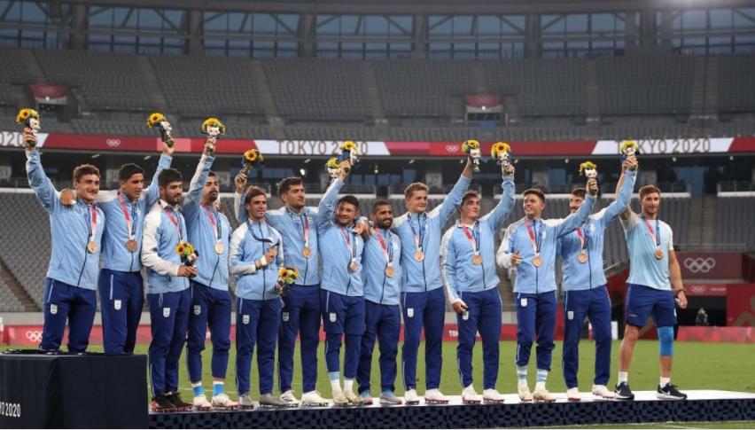 Primera medalla argentina en Tokio! Los Pumas ganaron el bronce en el rugby seven