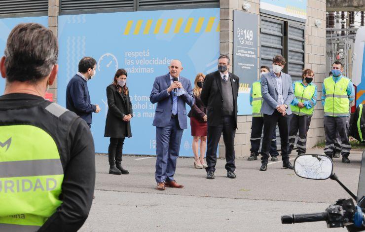 Se inauguró nueva base de seguridad vial en Tecnópolis