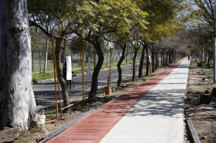 Tres de Febrero: Ciudad Jardín sigue modernizándose con un plan de obras