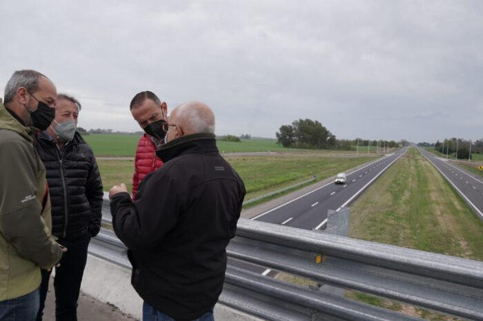 Pilar: llegó a su última etapa la transformación en autopista de la ruta 8