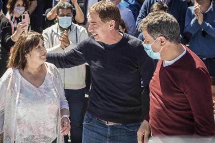 Santilli y Manes compartieron su primer acto y relanzaron la campaña de Juntos