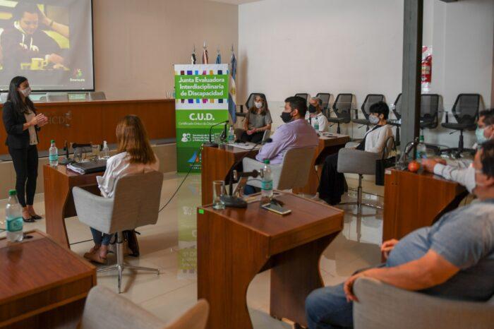 El Municipio de San Fernando capacitó a concejales para optimizar la atención de las personas con discapacidad