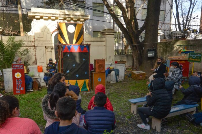 Comenzaron los espectáculos infantiles de Vacaciones de Invierno con protocolos en San Fernando