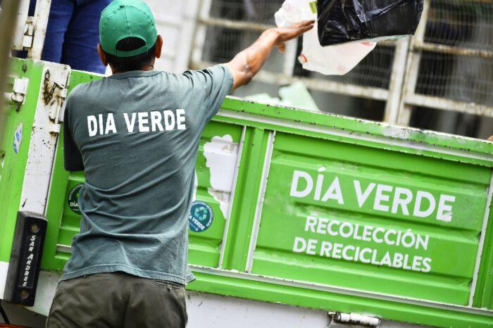 Vicente López sigue impulsando la recolección de residuos reciclables y montículos
