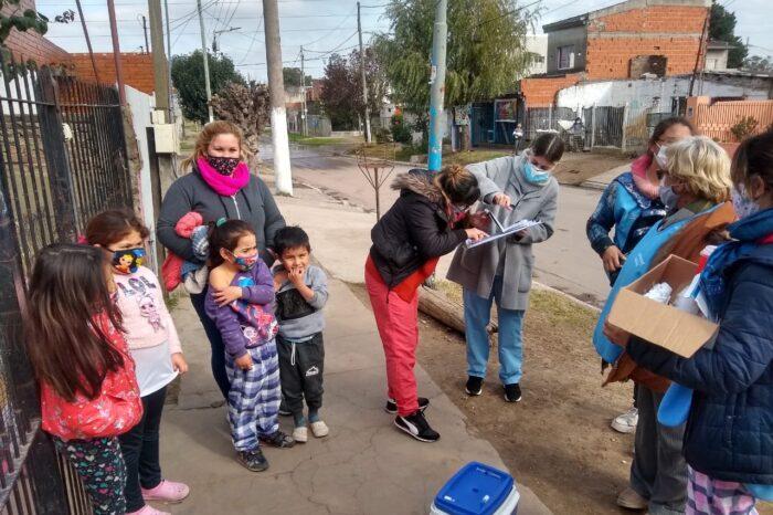 San Miguel intensifica los operativos de vacunación de calendario en los barrios