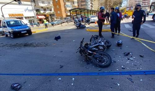 Tras intensa persecución dos motochorros fueron detenidos