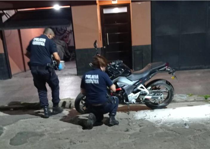 Tres de Febrero: mataron de dos balazos en el pecho a un policía de la Ciudad para robarle la moto