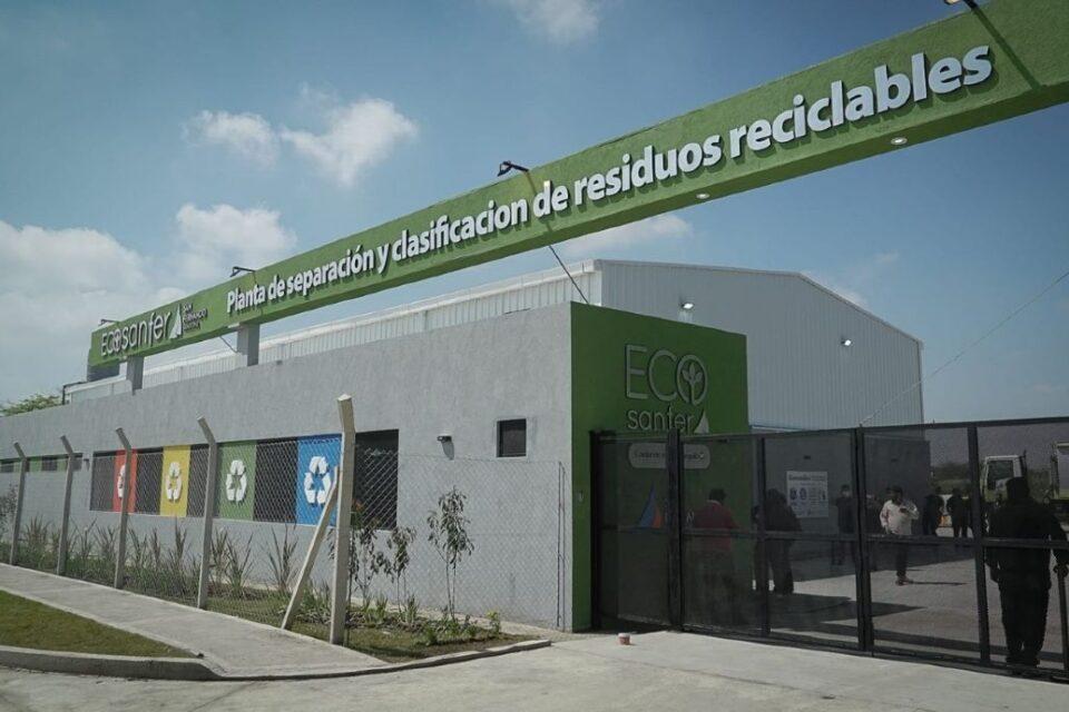Cabandié y Andreotti inauguraron la Planta de Reciclaje municipal de San Fernando